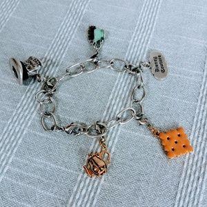 Disney Couture Alice in Wonderland Charm Bracelet